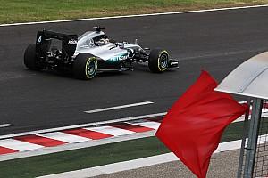 Формула 1 Новость Двойные желтые флаги в квалификации решено заменить красными