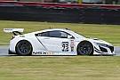 PWC NSX GT3が公式走行。カニンガムがPWC出走を止め、開発に専念