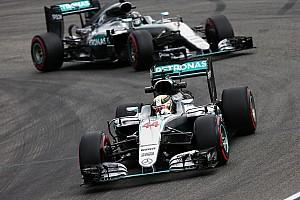 Formel 1 News Mercedes: Kein zusätzlicher Druck, um Crashs zwischen Hamilton und Rosberg zu vermeiden