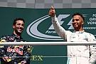 Hamilton ironiza sobre Red Bull