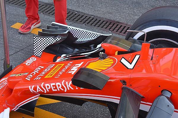 Teknik Analiz: Ferrari'nin downforce arayışları