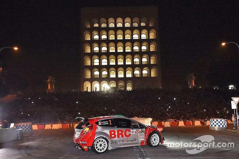 Raddoppiano le prove spettacolo al Rally di Roma Capitale