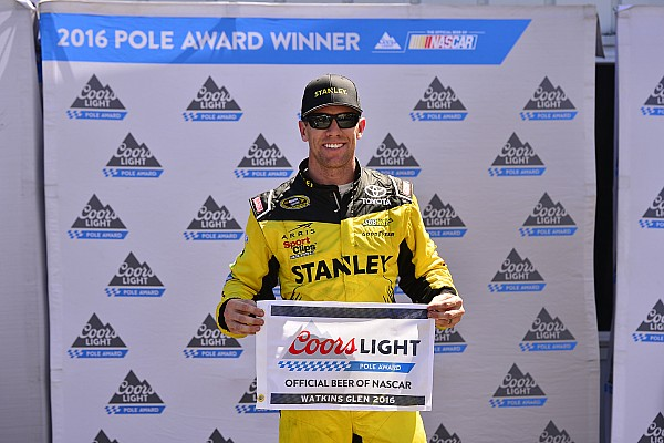 NASCAR Cup Carl Edwards obtiene la pole position para Watkins Glen