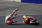 Fotogallery: ecco la sequenza della brutta caduta di Marquez nelle Libere 3