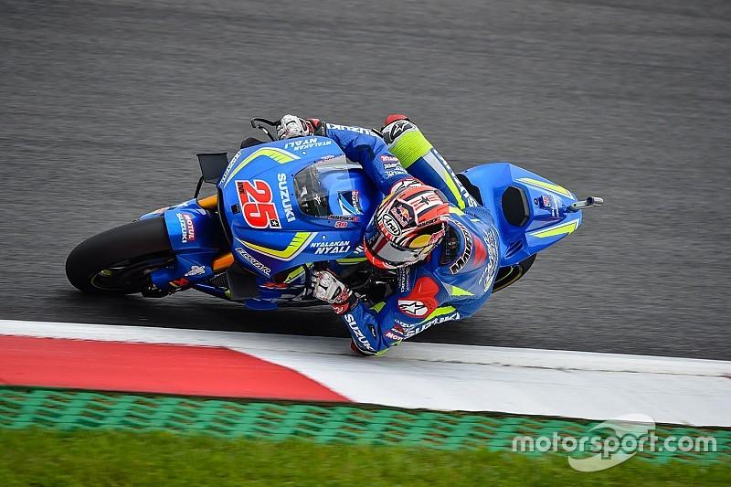 Виньялес пожаловался на недостаточный темп Suzuki на ускорении