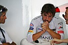 Alonso sufrió un fallo de motor y se ve obligado a cambiarlo