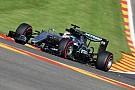Mercedes gasta cinco tokens en Spa