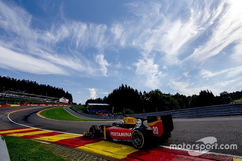 GP2 Spa: Giovinazzi wint, Gasly grote smaakmaker