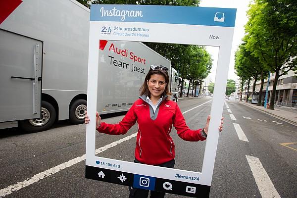 Bintang-bintang Audi beri tribut kepada mantan teknisi mereka, Leena Gade
