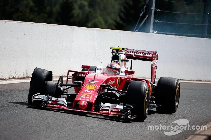 Ferrari hace cambios a su departamento de aerodinámica
