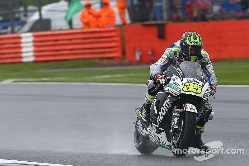 MotoGP in Silverstone: Cal Crutchlow schwimmt auf die Pole-Position