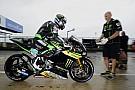 Regen teistert ook warm-up op Silverstone, P1 Hernandez