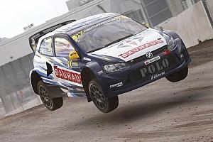 Rallycross-WM Rennbericht Johann Kristofferson siegt für Volkswagen in Loheac