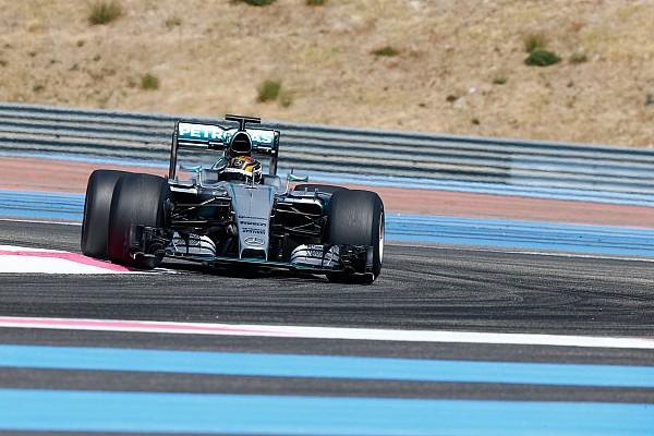 Anche la Mercedes ha provato le Pirelli larghe per il 2017