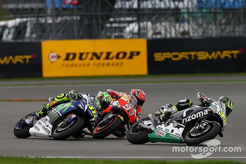 Crutchlow tak menyangka bisa bertarung melawan Rossi-Marquez