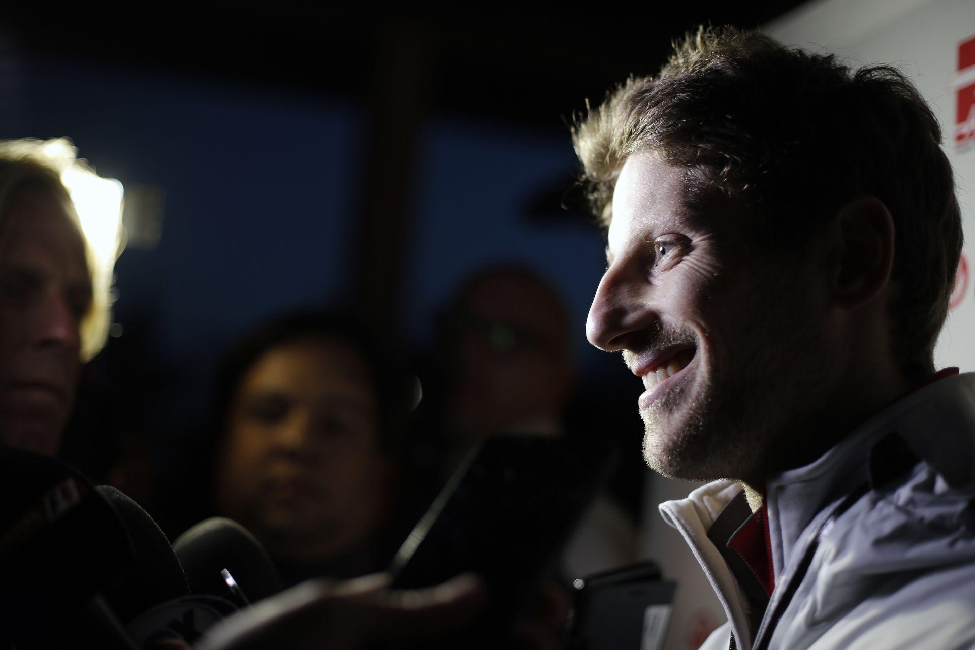 Grosjean családja hatalmas Spurs rajongó