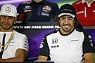 """Alonso: """"Kvyat és Verstappen helyet cserélt egymással? Lewis, te tudtad?"""""""