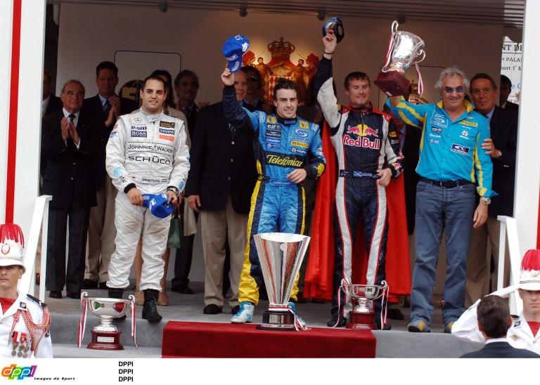 Alonso a 2006-os és a 2007-es monacói győzelmére emlékszik
