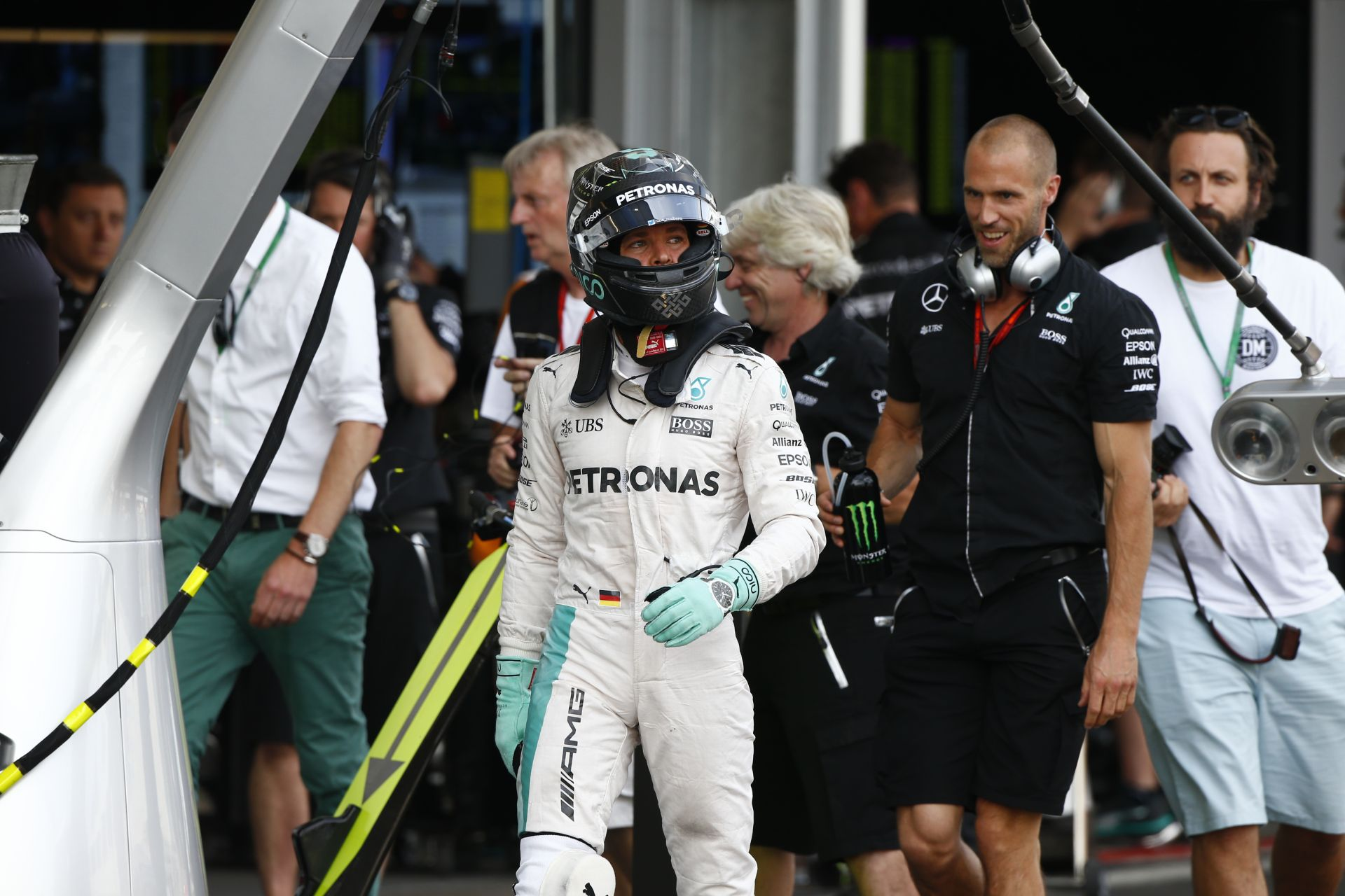 Rosberg megpörgette a 2014-es Mercedest Goodwoodban