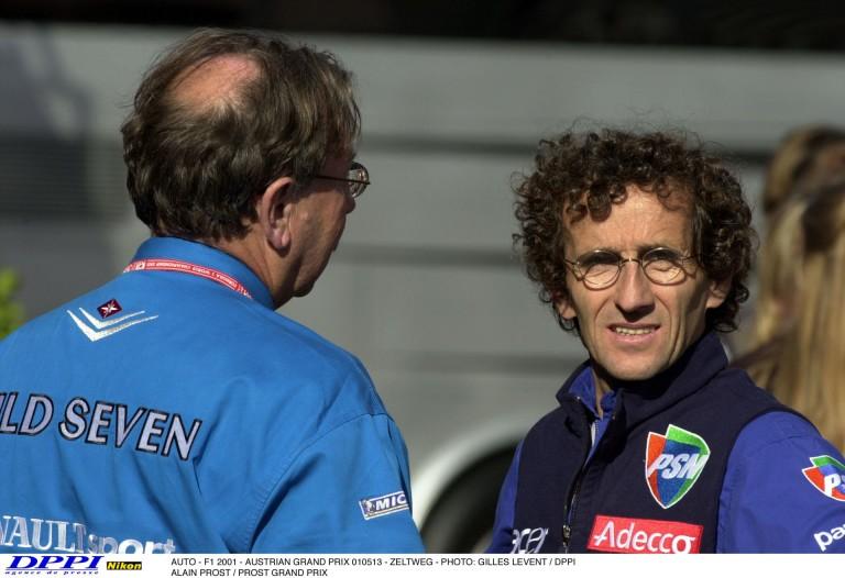 Alain Prost 677 km-t töltött az Osztrák Nagydíj élén – Hamilton és Vettel sehol!
