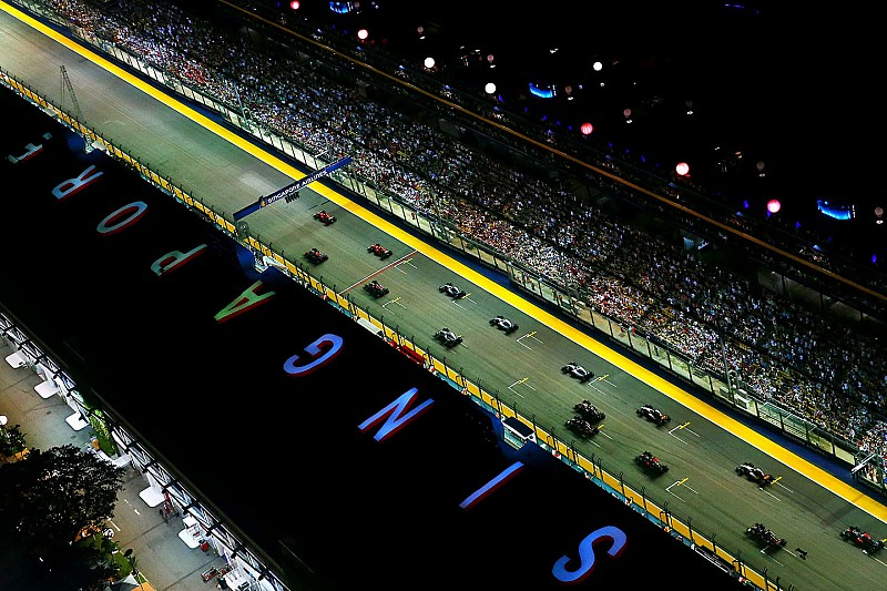 Horarios del GP de Singapur 2016 de F1