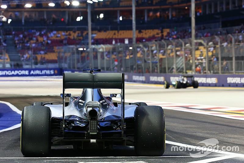 Pirelli reduce las presiones traseras