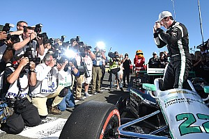 IndyCar Reporte de calificación Pagenaud se lleva la pole en Sonoma