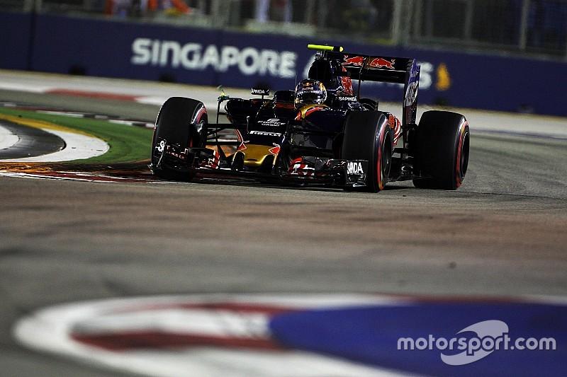 """McLaren: """"Voorsprong Toro Rosso in Singapore slechts eenmalig"""""""