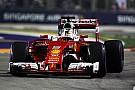 Vettel maximaliseert in Singapore: