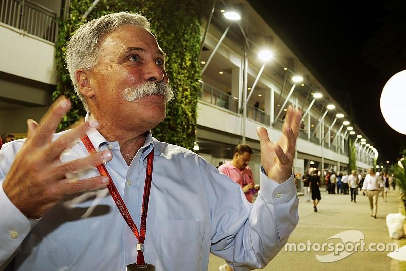 """كاري: باستطاعتي الارتقاء بالفورمولا واحد إلى """"مستوىً آخر"""""""