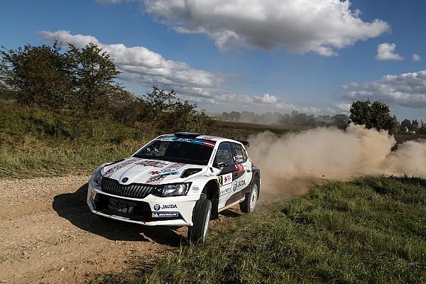 ERC Репортаж з гонки Ралі Лієпая: Впевнена перемога Сірмаціса, титул Каєтановіча