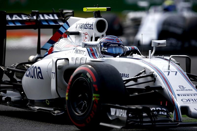 Sorgen bei Williams nach Problem mit Sicherheitsgurt in Singapur