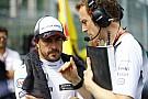 La fe ciega de Alonso en McLaren