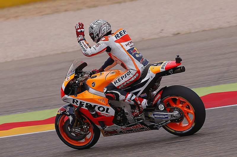 MotoGP in Aragon: Marc Marquez holt 6. Pole-Position der Saison