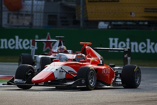Jack Aitken detta il ritmo nelle libere della GP3 a Sepang