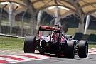 Técnica: el alerón trasero de Toro Rosso STR11 en Malasia