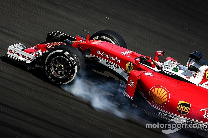 Феттель: Теплі умови на користь Ferrari