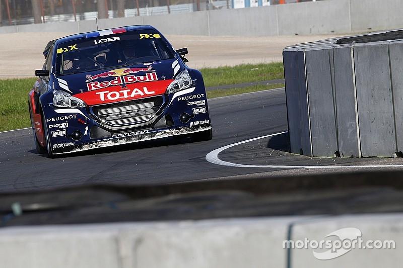 Loeb logró su primera victoria en el Mundial de Rallycross