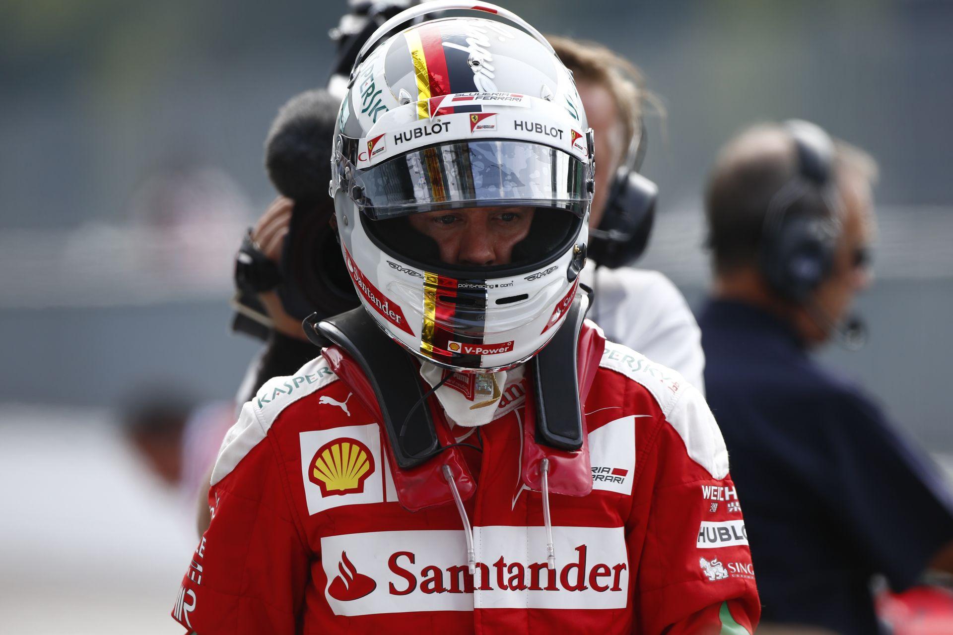 Räikkönen gyorsabb volt mostanában, tehát Vettel gyengélkedik a Ferrarinál?