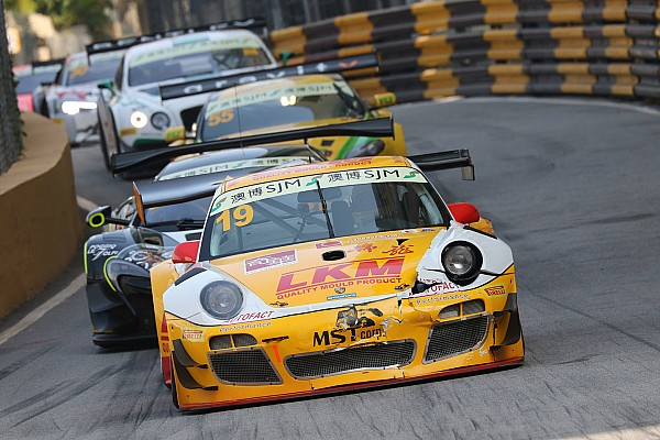 Audi, BMW, Mercedes und Porsche beim GT-Weltcup in Macau