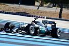 Hamilton y Rosberg emulan a Vettel y probarán los Pirelli 2017