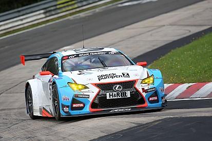 La nouvelle Lexus RC F GT3 en piste ce week-end sur la Nordschleife