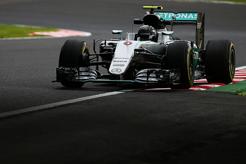 Mercedes in Suzuka: Angst vor weiteren Motorschäden fährt mit