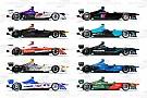 Fotogallery: le nuove livree delle monoposto di Formula E