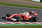 Getriebewechsel und Startplatzstrafe bei Kimi Räikkönen in Suzuka