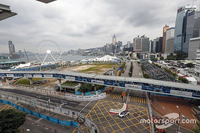 La parrilla de salida para el ePrix de Hong Kong