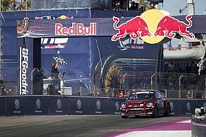 Global Rallycross Yarış raporu Scott Speed GRC Los Angeles'daki ilk yarışın galibi