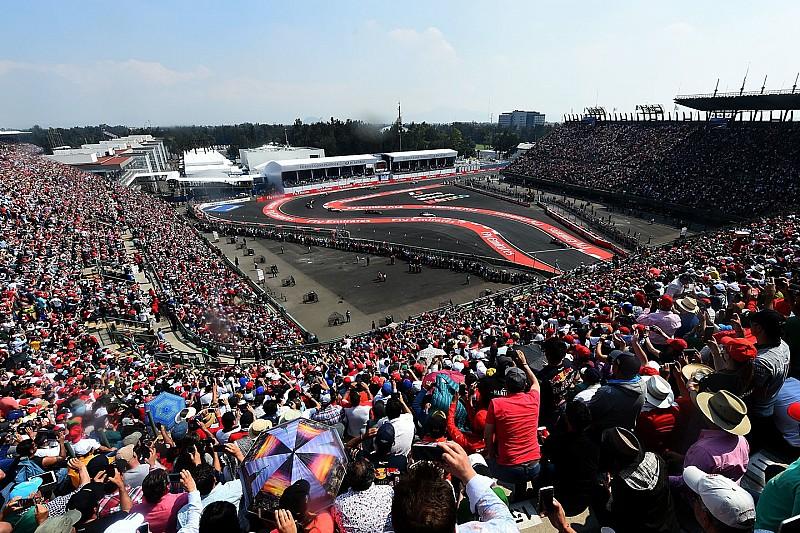 """Formel 1 in Mexico City: Ausverkaufte Ränge bei """"Formel-1-Fiesta"""""""