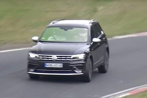 Auto Actualités Une version sport du Volkswagen Tiguan sur le Nürburgring