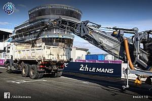 24 heures du Mans Actualités Au Mans, le circuit Bugatti fait peau neuve